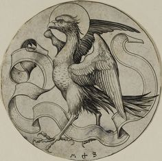Martin Schongauer German, c. 1450-1491, The Eagle of St. John