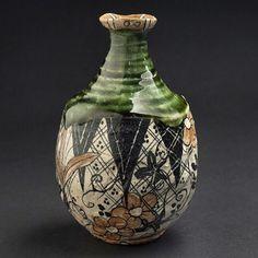 cavinmorrisgallery:#shogoikeda #tokkuri #ceramics #japan (at Cavin Morris Gallery)