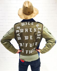 """UNITED ARROWS & SONS op Instagram: """"【New Arrival】 〈DRx〉×〈Cali Thornhill Dewitt〉× 〈POGGYTHEMAN〉Bikers Jacket available at the store. #drxromanelli #calithornhilldewitt #poggytheman #readymade #reinhardplank #2016ss #unitedarrowsandsons #unitedarrows staff ST"""""""