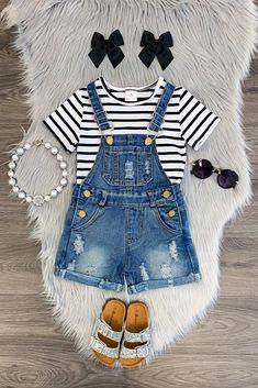 df31501fd 30 Best Girls Overall Dress images | Baby girls, Bib overalls, Overalls