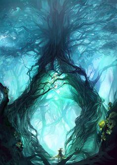 Digital Painting / Concept Art / Landscape / SciFi / Science Fiction / Other Planet / Future / Surreal / Mystic / Fantasy // ♥ More at: https://www.pinterest.com/lDarkWonderland/