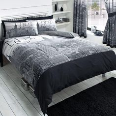 Total Fab: New York City Skyline Bedding & NYC Themed Bedroom Ideas