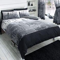 Total Fab: New York City Skyline Bedding & NYC Themed Bedroom Ideas