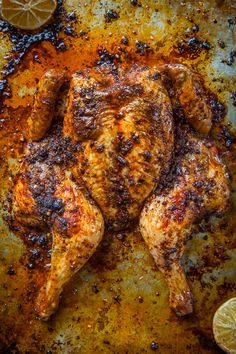 Chicken Rub Recipe for a Meyer Lemon Medican Adobo Rubbed Roasted Chicken. Photo and recipe by Irvin Lin of Eat the Love.