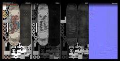 SkateBoard_Textures.jpg (1066×550)