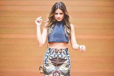 Meu look – Cropped! por Thássia Naves | Blog da Thássia em junho 5, 2014