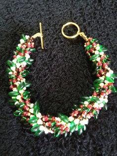 Pretty Festive Christmas Tree Double Spiral by XxxWithyouinmindxxX