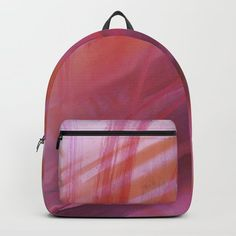 Abstract colors Backpack by chaploart | Society6