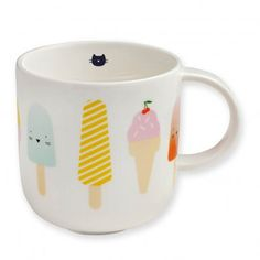 Bandjo Porcelain Ice Mug Multicoloured  Atomic Soda
