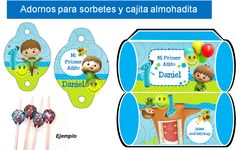Kit Imprimible Baby Tv Charlie Y Los Numeros Tarjetas Y Mas - $ 39,00