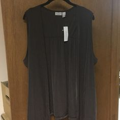 Women's brown best from Chicos brand new Brand new women's brown vest from Chicos Chico's Tops