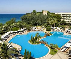 Sani Beach Hotel, Sani Resort, Halkidiki, Greece