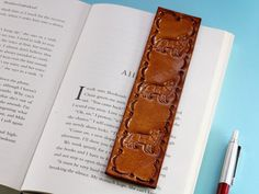 Looking for a sailing gift for husband? This Anchor and Ships Wheel leather bookmark makes an excellent leather gift for husband. This leather bookmark would also make a great anniversary gifts. Check out my Etsy shop! Leather Gifts, Leather Books, Leather Craft, Sailing Gifts, Gifts For Sailors, Great Anniversary Gifts, Nautical Gifts, Book Markers, Gifts For Husband