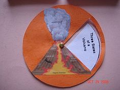 circular mini-book good for ocean currents  folding mini books tutorial
