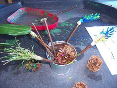 Some settings create a well-resourced mark making area and think that this is sufficient enough in helping develop children& early writing skills. Mark Making Early Years, Early Years Maths, Eyfs Classroom, Outdoor Classroom, Writing Area, Writing Skills, Writing Table, Creative Area Eyfs, Construction Area Early Years