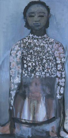 Image detail for -Marlene Dumas, 'Ivory Black' 1997