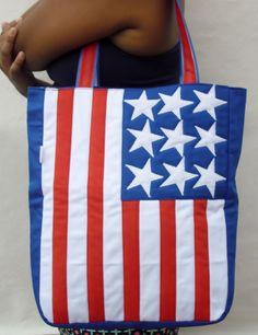 Bolsa Personalizada com Bandeira USA  http://www.facebook.com/Tchubilingas