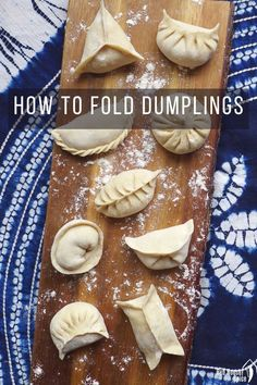 An easy-to-follow video tutorial on dumpling folding methods. 10 patterns covering all levels of skill. Extra tips to make your attempts to fold dumplings fail-proof.  #redhousespice Easy Asian Recipes, Chinese Recipes, Vietnamese Recipes, Chinese Bbq Pork, Chinese Food, Drink Recipes, Dessert Recipes, Best Dumplings, Dumpling Wrappers