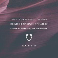Psalms 91:2 