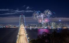 10 Best Cities With The Most Beautiful 4th of July Fireworks - 09 San Francisco 1
