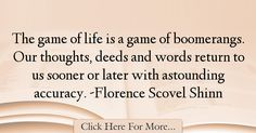 Florence Scovel Shinn Quotes About Life - 42812