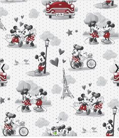 Excited to share this item from my shop: Disney inspired Mickey and Minnie vintage romance Mickey Minnie Mouse, Minnie Mouse Fabric, Mickey And Minnie Love, Mickey Mouse Wallpaper, Disney Wallpaper, Minnie Mouse Background, Disney Valentines, Disney Fabric, Vintage Romance