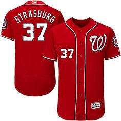 Stephen Strasburg Washington Nationals Authentic Jerseys