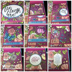I had to wait until I gave them to my roommates at the Stampin' Up! OnStage before I could put them on here. Roommate Gifts, Roommates, 3d Projects, Stamp Sets, Getting Organized, Stampin Up Cards, Mini Albums, Scrapbook Pages, Your Cards