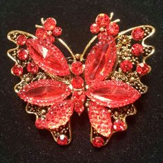 Selling this NEW RED ELEGANT JEWELED BUTTERFLY RING in my Poshmark closet! My username is: dlauren1977. #shopmycloset #poshmark #fashion #shopping #style #forsale #Jewelry