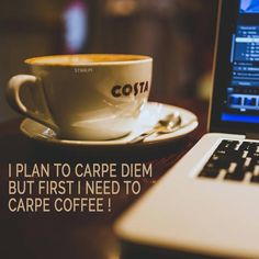 I plan to #carpediem but first I need to carpe #coffee  #friday #thankgoditsfriday #weekend #mycoffee #costacoffee #costa #coffeeholic #coffeelover #caffeinefix #homebarista #ilovecoffee #caffeine #coffeehabit #coffeeaddict #coffeegear #mycoffeecup #mycoffeemate #igerscoffee #coffeelover #coffeelovers #coffeeist #coffeeplease #coffeebreak #coffeetools #coffeeaccessories #coffeegadgets #coffeebreak #itsfriday #seizetheday #goodvibes