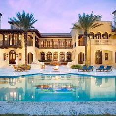 Really fancy houses luxury lifestyle: the best holiday home in miami villa contenta Dream Mansion, Dream Houses, Mansions Homes, Mediterranean Homes, House Goals, My Dream Home, Dream Big, Future House, Luxury Homes