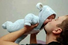 #daddy#baby#kiss#love