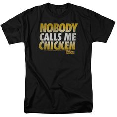 Behold the Back to the Future - Chicken Adult T-Shirt. Now you can be part of…