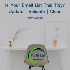 Is Your Email List This Tidy?  Visit FixMyList.com for more info  #lists #email #emailmarketing #emailvalidation #emails #emailing #emailtransmission Email Validation, Your Email, Direct Marketing, Email List, Me Clean, Photo And Video, Instagram