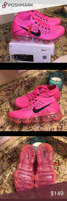 Women's Vapormax Vapor man Nike 7 and 8 NEW Brand new Size 7 and 8 left . Sold out in stores Nike Shoes Athletic Shoes
