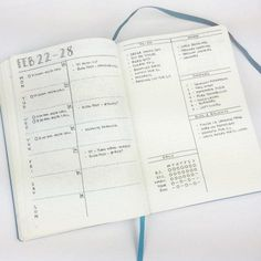Bohoberry Weekly Spread. Top 8 Bullet Journal Ideas for 2016 – Bullet Journal®