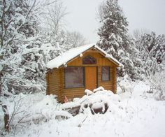 How to make a log cabin retreat style