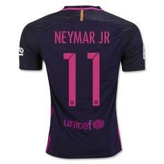 9813c74e987 16-17 Football Shirt Barcelona Away Cheap  11 NEYMAR JR Replica Jersey  G96