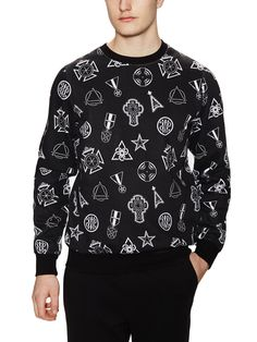 Eleven Paris | mens printed crew neck