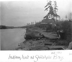 Duwamish house and canoe, Shilshole Bay, Seattle, Washington, :: American Indians of the Pacific Northwest -- Image Portion Native American Genocide, Native American Tribes, Native American History, Native Americans, Indian Tribes, American Life, Vintage Pictures, Old Pictures, Old Photos