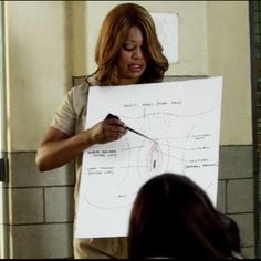 A Better Vagina Diagram Than You Saw on 'Orange Is the New Black' #OITNB