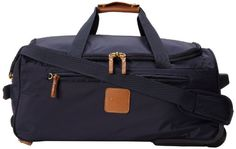 Bric's Luggage X-Bag 21 Inch Carry On Rolling Duffle, Navy, One Size Bric's $185.00 http://smile.amazon.com/dp/B0090BYX80/ref=cm_sw_r_pi_dp_TEu9ub0DVVEZD