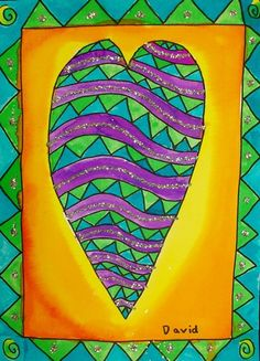 Inspired by Laurel Burch. Other pieces at site.