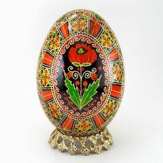 Poppy Passion - Real Handmade Traditional Ukrainian Goose Egg by Ukrainian Treasures, via Flickr