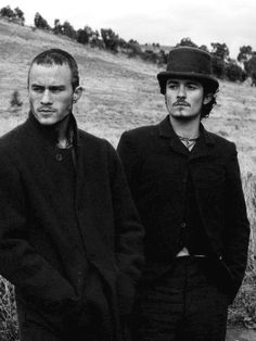 Heath Ledger & Orlando Bloom in Ned Kelly, love this movie
