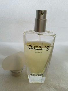 ESTEE LAUDER DAZZLING SILVER 1.7oz/50mlSpray PERFUME/EAU de PARFUM HARD to FIND #ESTEELAUDER