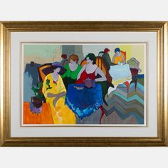 LOT 88 ITZCHAK (ISAAC) TARKAYItzchak (Isaac) Tarkay, (1912-2012) - Marjorie's Secret, Medium: Serigraph on wove paper, Dimensions: H: 24 W: 37 1/2 Est: $150-250 With Certificate of Authenticity. Provenance William S. Fitts Trust UAD. Signature Signed lower right and numbered E.A. 39/45 lower left in pencil.