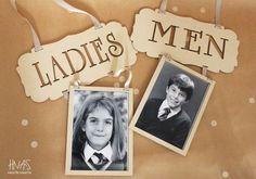carteles ladies / men