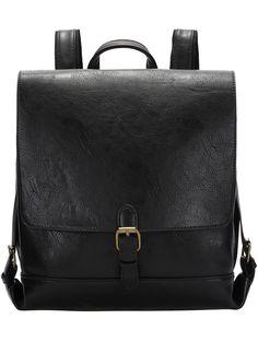 Shop Black Buckle PU Backpacks online. SheIn offers Black Buckle PU Backpacks & more to fit your fashionable needs.