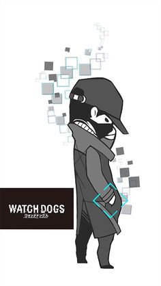 Watch Dogs iphone wallpaper
